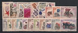 Monaco - Année Complète 1961 - N°Yv. 551 à 570 - Complet - Neuf Luxe ** / MNH / Postfrisch - Années Complètes