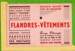 Buvard & Blotting Paper : FLANDRES VETEMENTS Malo Les Bains - Textile & Clothing