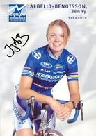 CYCLISME: CYCLISTE : JENNY ALGELID BENGTSSON - Ciclismo