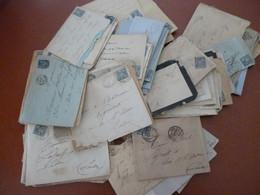 Lettres Affranchissement Sage 15 C LAC   En Majorité Environ 100 Pièces - 1877-1920: Semi Modern Period