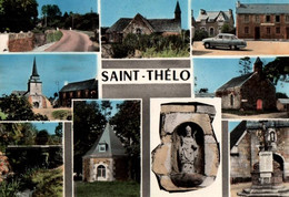 CPSM - St THELO - Souvenir De … - Edition Chauvel & Billaud - Otros Municipios