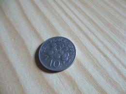 Guernesey - 10 Pence Elizabeth II 1992.N°2391. - Guernsey