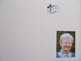 Bidprentje: Zuster Yolanda Vermeire, Missionaris, Retie 1931 + Kessel-Lo 2016 - Décès