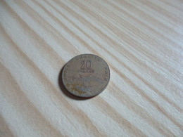 Djibouti - 20 Francs 1991.N°2396. - Djibouti