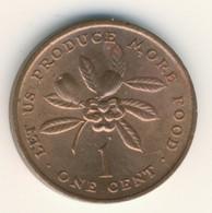 JAMAICA 1973: 1 Cent, FAO, KM 52 - Jamaica