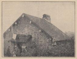 G3039 France - Le Refuge De La Haute-Planche Des Belles-Filles - 1924 Old Print - Stampe & Incisioni