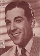 LUIS MARIANO- 1 DOS DE LA REVUE LE FACE A MAIN 1949 - Cinema & Television