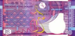 HONG KONG P. 400a 10 D 2002 UNC - Hong Kong