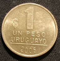URUGUAY - 1 PESO URUGUAYO 2005 - KM 103.2 - Uruguay