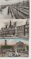 2112-846  10 Cp  Voitures Et Circulation à Paris 1950-60  La Vente Sera Retirée Le 11-04 - Toerisme
