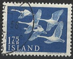 Iceland Island 1956. Mi 313, Used O - Gebraucht