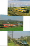 101 CPM Ferroviaires Françaises - - 100 - 499 Postcards