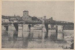 G3413 France - Cahors - Le Nouveau Pont De Cabessut - 1910 Vintage Print - Stampe & Incisioni