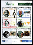 A750 - KOLUMBIEN - 2021- MNH- FAMOUS PEOPLE-  WRITER, SCULPTOR, MASTER PAINTINGS....... - Colombia