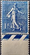 R1491/236 - 1924/1932 - TYPE SEMEUSE LIGNEE - N°205a Bleu-noir NEUF** BdF - Cote (2020) : 175,00 € - 1903-60 Sower - Ligned