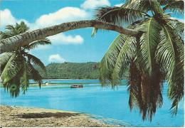 La Plage Port Glaud, Seychelles. (scan Verso) - Seychelles