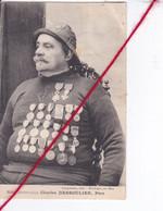 CP 62   -   BOULOGNE SUR MER   -  Héros Boulonnais : Charles DESSOULIER, Père  (1 Coin Cassé) - Boulogne Sur Mer