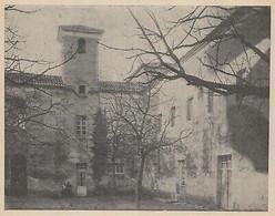G3472 France - Collège De Mézin - 1906 Vintage Print - Stampa Epoca - Stampe & Incisioni