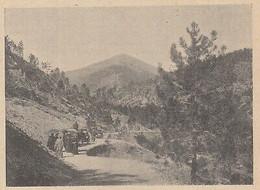 G3581 France - Caravane Sur La Route De La Corniche De L'Esterel - 1907 Print - Stampe & Incisioni