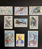TAAF Yvert N° 55 à 63, Année 1976 Complète, 9 Valeurs, Timbres Neufs Avec Et Sans Charnières - Ungebraucht