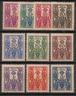 Cameroun - 1939 - Taxe TT N°Yv. 14 à 23 - Série Complète - Neuf Luxe ** / MNH / Postfrisch - Neufs