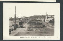 N° 4 - Bastia ( Corse ) - Vue Générale Des Quais   -   Gaq 101 - Bastia