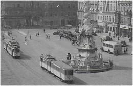 AK 0678  Linz An Der Donau - Hauptplatz / Strassenbahn , Bus Um 1930-50 - Linz