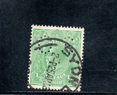 AUSTRALIE 1919-26 O - Officials