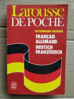 Larousse De Poche - Dictionnaire Bilingue/ Le Livre De Poche, 1985 - Dictionaries