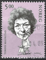 Norwegen Norway 2002. Mi.Nr. 1417, Used O - Gebraucht