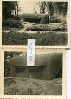 Ardennes. GLAIRE. 2 Photos Allemandes Du Bloc 103 Bellevue - 1939-45