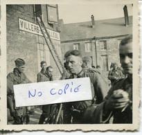 Ardennes. VILLERS LE TILLEUL. 1940. Arrivée De L'infanterie Allemande - 1939-45