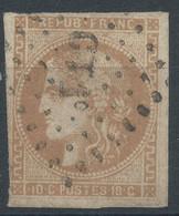 Lot N°59668  Variété/n°43A, Oblit Losange CT1° Des Ambulants, Filets - 1870 Emissione Di Bordeaux