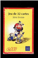 JEU 32 CARTES A JOUER PUBLICITE BOUTEILLE DE GAZ ELFI ANTARGAZ OFFRE SPECIALE LE TOUR DE FRANCE 2001 - 32 Cards