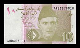 Pakistán 10 Rupees 2018 Pick 45m SC UNC - Pakistan