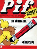 """Pif Gadget N°153 - Teddy Ted"""" """"Pour Gagner Stormy"""" - Docteur Justice """"La Piste De Jamalpur"""" - Pif Gadget"""