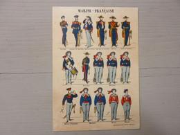 MARINE FRANCAISE - Imagerie Pellerin EPINAL - Uniformen