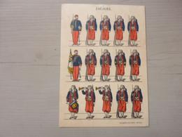 ZOUAVES - Imagerie Pellerin EPINAL - Uniformen