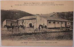 BARJOLS - Haras Du Pigeonnier Pension Pour Cheveaux Au Repos, Pour Poulinères Et Pour L'élevage Des Poulains Les Boxs - Barjols