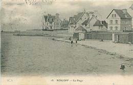 CPA - ROSCOFF - LA PLAGE - Roscoff