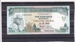 Mauritius 200 Rupees  1986 UNC - Other - Africa
