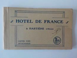 Rare Ancien Carnet Complet 10 CP Détachables Hastière S/Meuse Hôtel De France - Cerfontaine