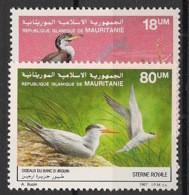 Mauritanie - 1988 - N°Yv. 605 à 606 - Oiseaux - Neuf Luxe ** / MNH / Postfrisch - Mauritanie (1960-...)