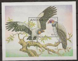 ANGOLA 2000 Birds Of Prey - Aigles & Rapaces Diurnes