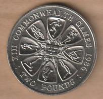 GUERNSEY 2 Pounds  1986 Commonwealth Games, Edinburgh Copper-nickel • ⌀ 38.61 Mm KM# 48 - Guernsey