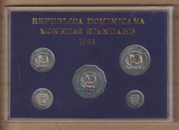 DOMINICANA 1983  Mint Set  5 Monedas - Dominicana