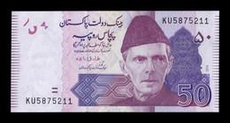 Pakistán 50 Rupees 2018 Pick 47l SC UNC - Pakistan