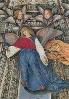 CARTOLINA  LORETO,MARCHE,MELOZZO DA FORLI 1477-1493,SAGRESTIA DI S.MARCO-ANGELO CON TENAGLIE,CULTURA,MEMORIA,NON VIAGG - Ancona