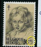 N° 1272 - V - ( Petit C )      état: ** - Plaatfouten (Catalogus OCB)