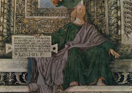 CARTOLINA  LORETO,MARCHE,MELOZZO DA FORLI 1477-1493,SAGRESTIA DI S.MARCO-LA PROFETA EZECHIELE,CULTURA,MEMORIA,NON VIAGG - Ancona